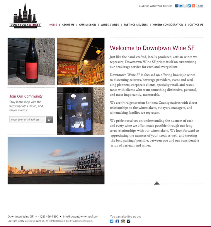 Downtown Wine SF